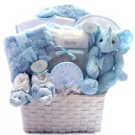 It's a Boy essentials basket