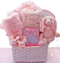 It's a Girl essentials basket